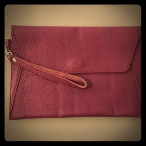 Handbags - Purple clutch